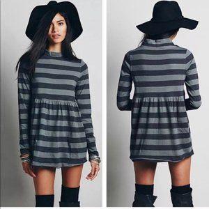 Free People Striped Mod About It Tunic Dress